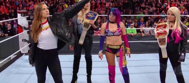 Ronda Rousey joins WWE in time for WrestleMania. - mmanytt.com