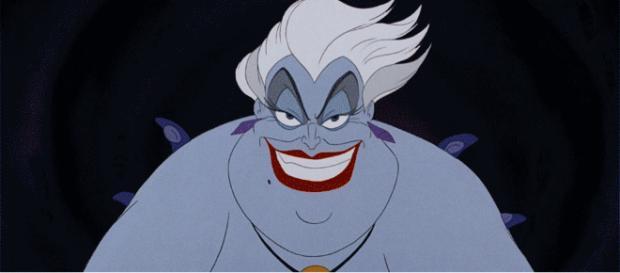 Ursula es un personaje de la historia de Disney la Sirenita