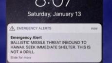 Hawaii missile alert caused by employee who mistook drill for actual attack