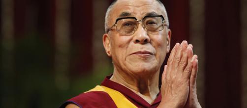 Il 14° Dalai Lama del buddismo tibetano.
