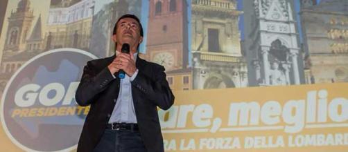 Il candidato governatore PD in Lombardia, Giorgio Gori