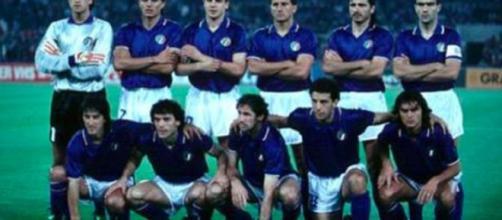 La Nazionale italiana di calcio ai Mondiali di Italia90