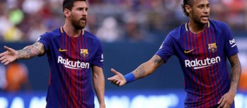 Neymar dice que se fue del Barcelona por Messi.