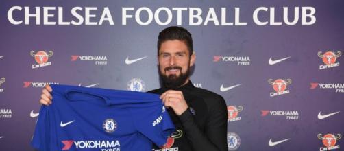 Olivier Giroud nueva contratación del Chelsea Foto: Onda Cero
