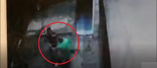 Policial mata próprio colega de farda (Captura de vídeo)