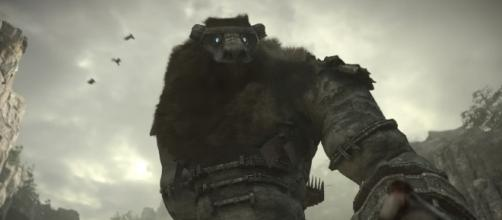 Shadow of the Colossus on Ps4. [image source: PlayStation/YouTube screenshot]