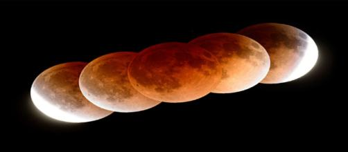 Total Lunar Eclipse on January 31, 2018 (Image Via NASA.Gov)