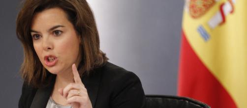 Vicepresidenta Soraya Sáenz de Santamaría