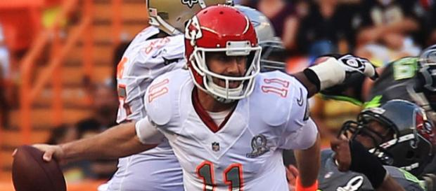 Alex Smith is traded to the Redskins. - [Photo Credit: Matthew Bragg on Wikimedia Commons]
