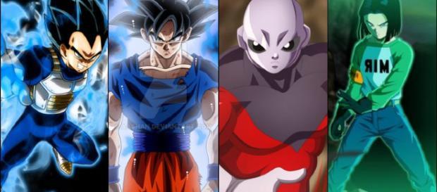 Goku vai usar o super saiyajin blue