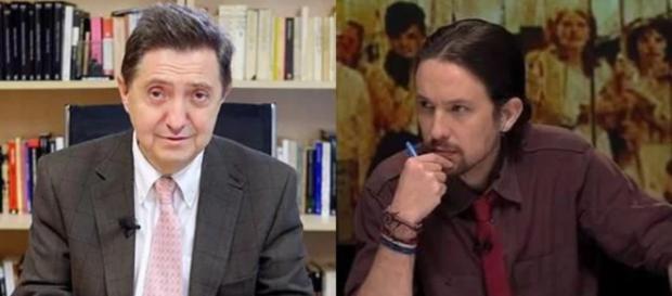 Jiménez Losantos y Pablo Iglesias