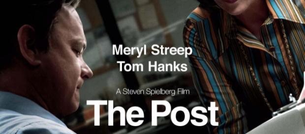 The Post - locandina del film.