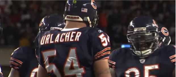 Urlacher will be inducted into the Hall of Fame. - [Chicago Bears / YouTube screencap]