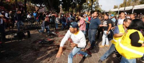 culpa a operadora de Morena por violencia en mitin de AMLO - com.mx