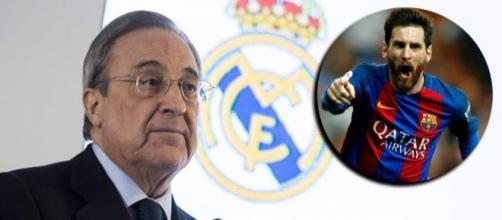 Florentino Pérez: 'Me hubiese gustado tener a Messi en el Madrid ... - diez.hn