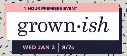 'Grown-ish' title card (Source: TV Promos/YouTube Screencap)