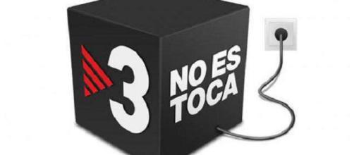 Imagen de defensa de TV3 ante quienes la atacan. 'TV3 no se toca', dice bien claro