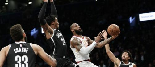 LeBron James' triple-double not enough as Cavs fall to Nets - NY ... - nydailynews.com