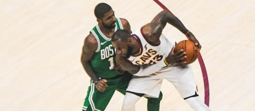 LeBron James will miss Kyrie Irving when the Finals arrive. - [Wikimedia Commons / Erik Drost]