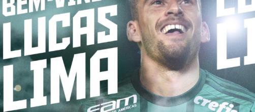 Lucas Lima chega para qualificar ainda mais o elenco do Palmeiras