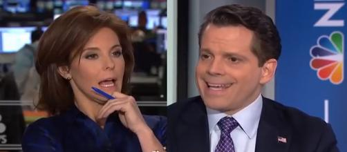 MSNBC interview with Anthony Scaramucci, via YouTube