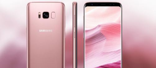 Samsung Galaxy S8, ci sono incoraggianti novità per il modello rosa