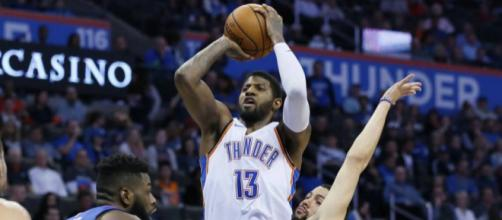 Thunder star Paul George drops 42 on Clippers | The Japan Times - japantimes.co.jp