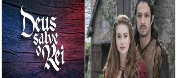 Amália e Afonso se conhecem em ''Deus Salve o Rei''