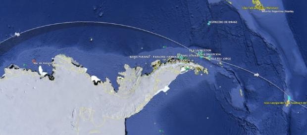 El Paraíso se hunde y en Amundsen están las claves - nauticalnewstoday.com