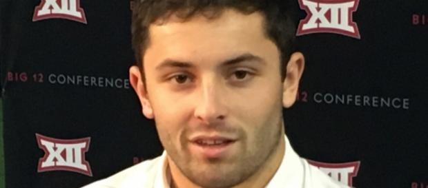 Now that Baker Mayfield's college career has ended, let's see where he stands going to the NFL Draft - Bobak Ha'Eri via Wikimedia Commons