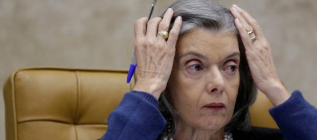 Presidente do STF, ministra Cármen Lúcia