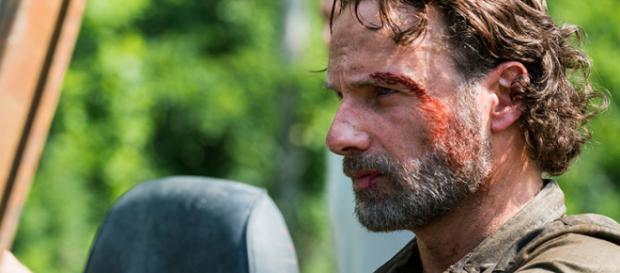 Rick Grimes no episódio da série