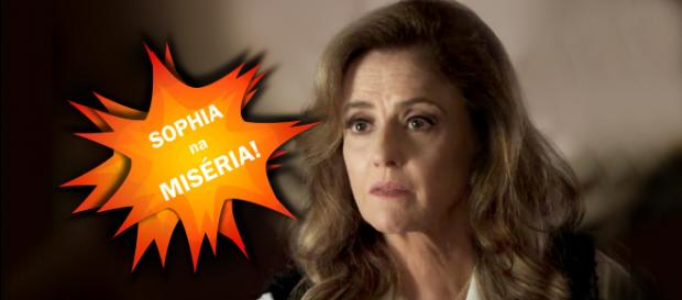 Sopia, a personagem de Marieta Severo vai começar a receber o que merece. (Reprodução/TV Globo)
