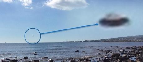 presunto avvistamento di un disco volante a civitavecchia (fonte centro ufologico mediterraneo)