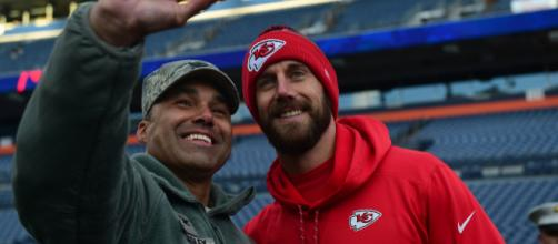 After the Chiefs lost to the Titans in the playoffs, Alex Smith's future is at risk. - Gabrielle Spradling via Buckley Air Force Base
