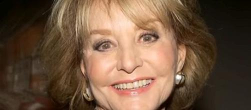 Barbara Walters is wheelchair-bound and living in isolation [Image: TMZLive/YouTube screenshot]