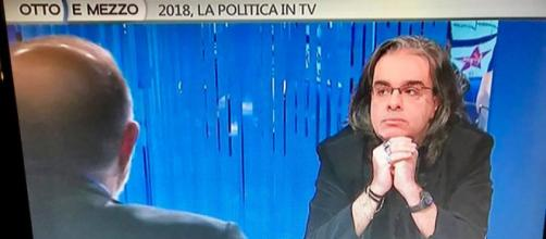 Carmine Castoro ospite della trasmissione Otto e mezzo