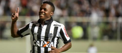 Cazares viria para ser titular do Santos. (Foto Reprodução).