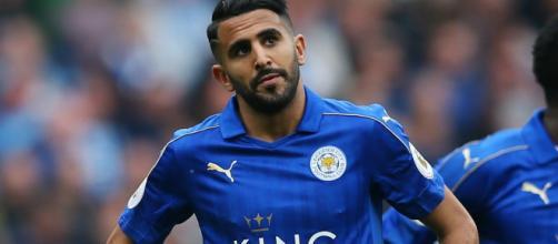 Claude Puel asegura que la estrella de Leicester, Mahrez está feliz