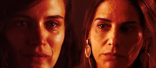 Duda descobre que Clara é sua filha em 'O Outro Lado do Paraíso'; veja foto da cena