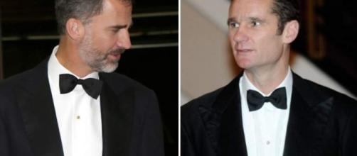 Felipe VI e Iñaki Urdangarín avergonzados por Garzón