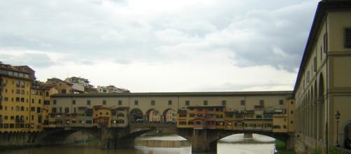 Firenze Veduta di Ponte Vecchio
