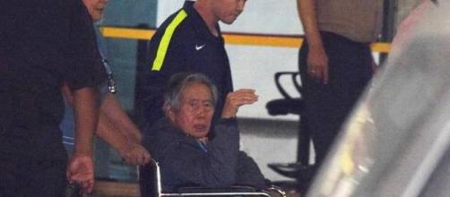 Fujimori sale de la clinica el jueves pasado