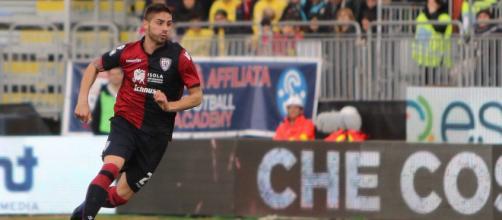Il difensore del Cagliari, Marco Capuano