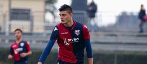 Il difensore siciliano Cusumano, astro nascente del calcio italiano