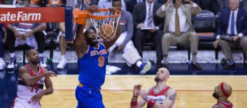 Kyle O'Quinn has been productive as the Knicks' backup center this season. Image Source: Flickr | Keith Allison