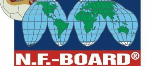Logo NF-Board, Federación alterna a la FIFA, creada en Bélgica