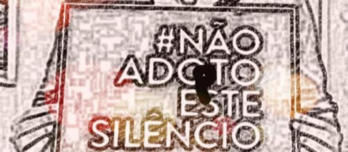 Não adopte este silêncio - A indiferença não faz a diferença.