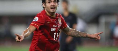 Ricardo Goulart está atualmente no futebol chinês