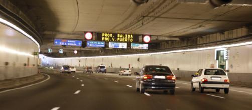 Supuesto machismo en los túneles de la M-30